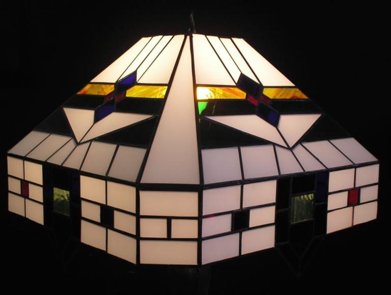 Gerestaureerde tafellamp