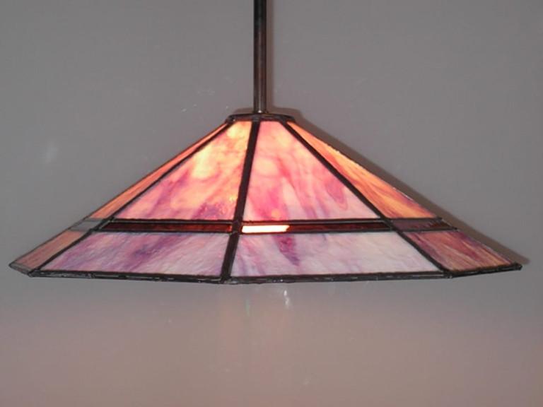Hanglamp zeshoekig